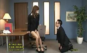 Horny Female Teacher - Scene 3