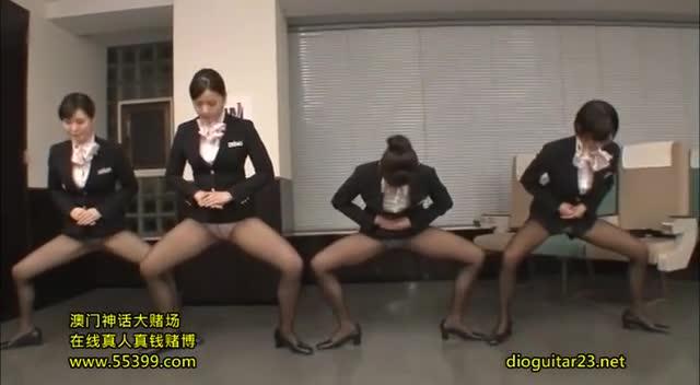 Japanese Flight Attendant Porn - Flight Attendant Training - Scene 2 and more free porn ...