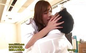 Sick Bay Nurse's Obscene Sexual Education - Scene 1