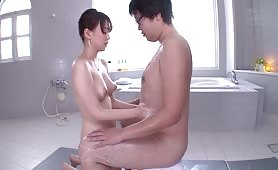 I Met A F-cup College Student in Soap Land - Scene 4